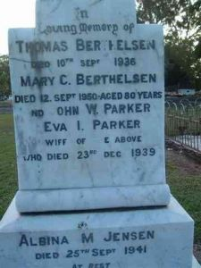 Berthelsen, Thomas and Mary Catherine (nee List)