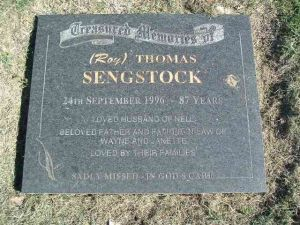 Sengstock, Roy Thomas