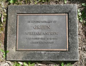 Green, William Andrew