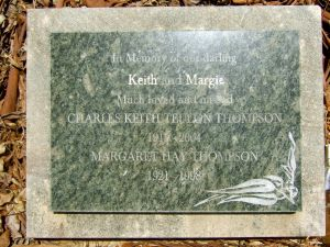 Thompson, Charles Keith and Margaret (Mrs)