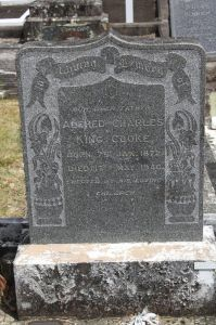 Cooke, Alfred Charles King, died 17 May 1946